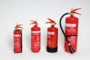 All types of extinguishers